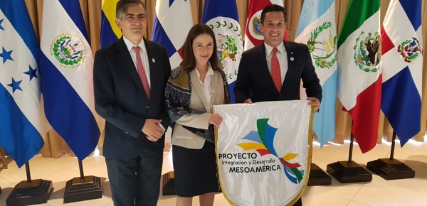 Colombia recib de Panamá la Presidencia Pro Tempore del Proyecto de Integración y Desarrollo de Mesoamérica