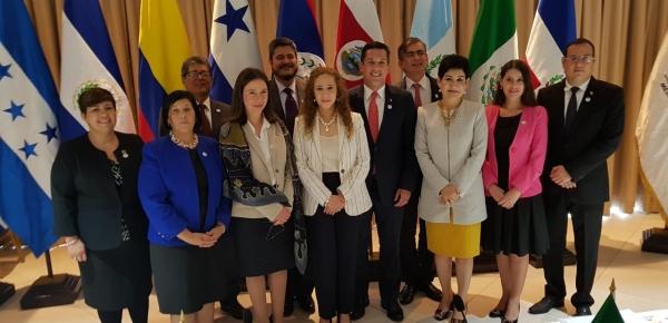 Viceministra de Asuntos Multilaterales, Adriana Mejia, participó en la IV Reunión de Comisión Ejecutiva del Proyecto Mesoamérica