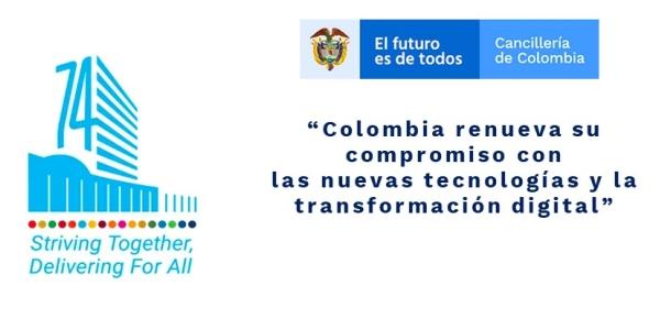 """""""Colombia renueva su compromiso con las nuevas tecnologías"""""""