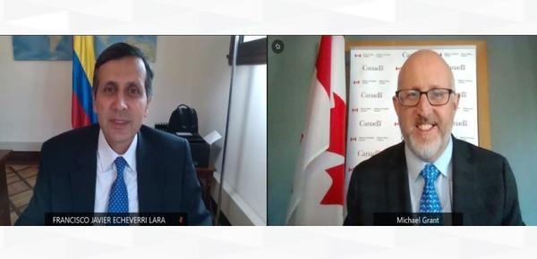 Colombia y Canadá celebraron la XV Reunión del Mecanismo Viceministerial de Consultas Políticas Económicas