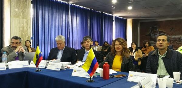 Colombia y Ecuador se reúnen en Ipiales para discutir sobre la migración segura, ordenada y regular de ciudadanos venezolanos en la frontera