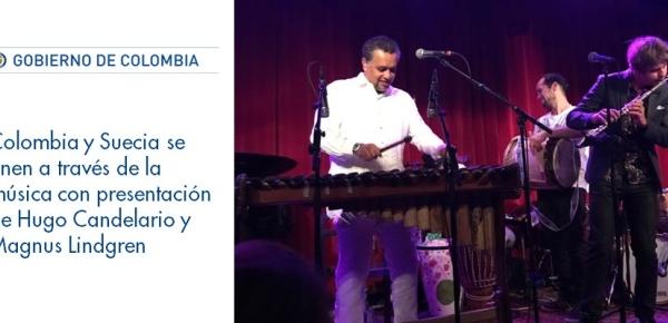Colombia y Suecia se unen a través de la música con la presentación de Hugo Candelario y Magnus Lindgren