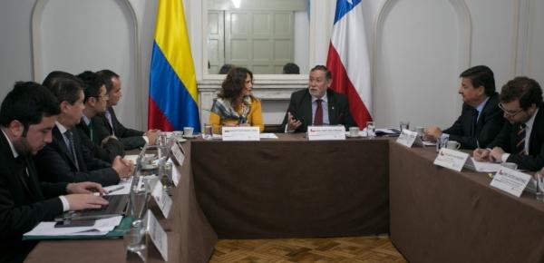Primera reunión de la Comisión de Asuntos Migratorios y Consulares Colombia-Chile