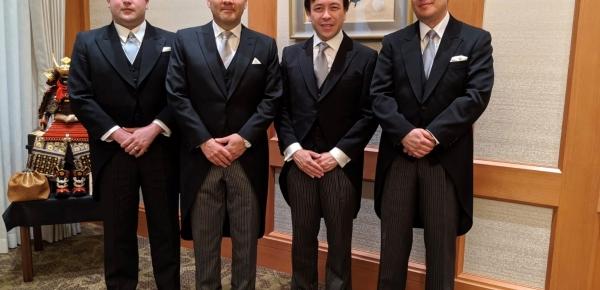 El Embajador de Colombia en Japón, Santiago Pardo Salguero, presentó cartas credenciales ante el nuevo Emperador de Japón, Naruhito