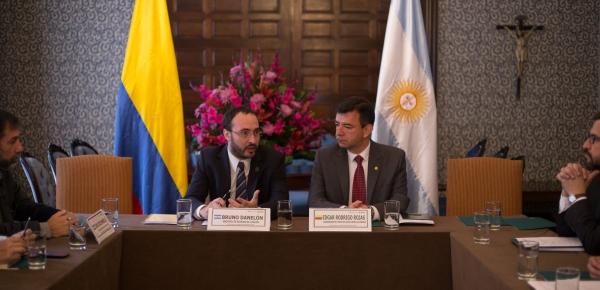 Gobiernos de Colombia y Argentina intercambian experiencias y buenas prácticas en la lucha contra el problema mundial de las drogas