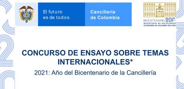 Concurso de Ensayo sobre temas internacionales: Año del Bicentenario de la Cancillería
