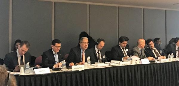 Embajada de Colombia en Bruselas participó en la XLIX Reunión de Altos Funcionarios del Diálogo Birregional CELAC-Unión Europea