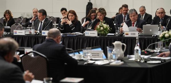 Con la participación del Canciller Carlos Holmes Trujillo se realizó X Reunión de Ministros de Relaciones Exteriores del Grupo de Lima, en Ottawa, Canadá