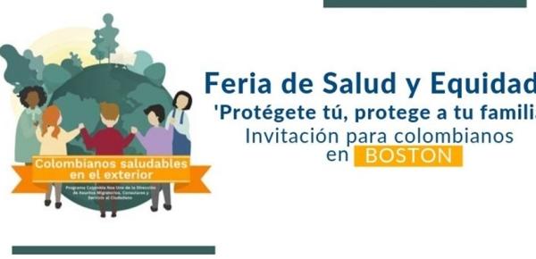 Consulados de Colombia y México en Boston realizarán la Feria de Salud y Equidad