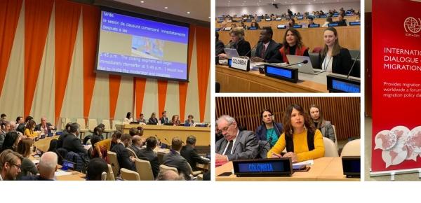 Colombia participa en el Debate de Alto Nivel sobre Migración y Desarrollo de Naciones Unidas