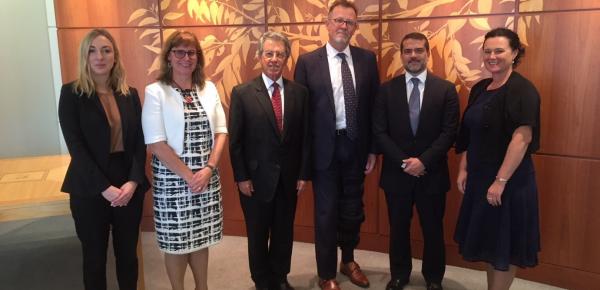 Colombia y Australia desarrollaron la IV ronda de Consultas Políticas en Canberra