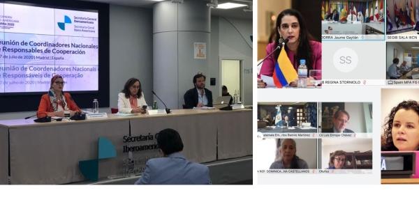 Colombia participó en la III Reunión de Coordinadores Nacionales y Responsables de Cooperación de la Conferencia Iberoamericana