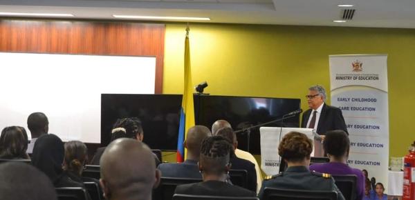 Por tercera vez, el español de Colombia llega hasta Trinidad y Tobago