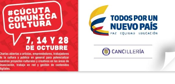 El Ministerio de Relaciones Exteriores apoya la realización de las charlas #CúcutaComunicaCultura