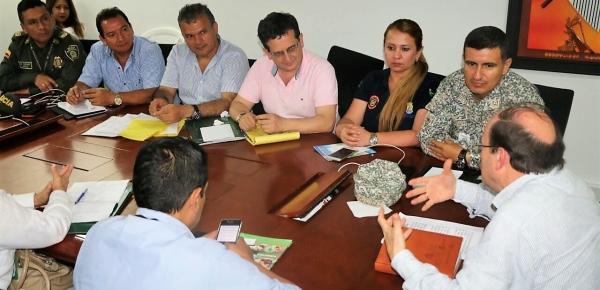 Director de Fronteras de la Cancillería y el Embajador de Colombia en Venezuela visitaron Arauca para reforzar el trabajo interinstitucional en temas de frontera