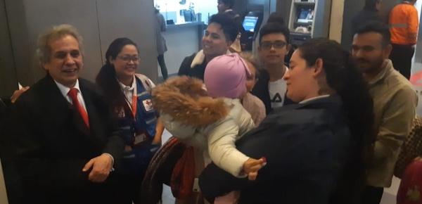 Se publicó nota: Culminó con éxito el traslado de una menor colombiana desde Guangzhou hasta Medellín