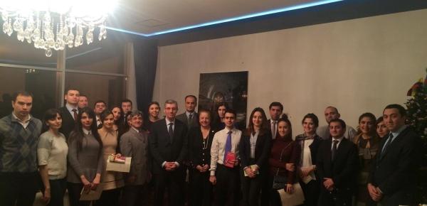 Cierra cuarta versión del curso de español ofrecido por Colombia en Azerbaiyán