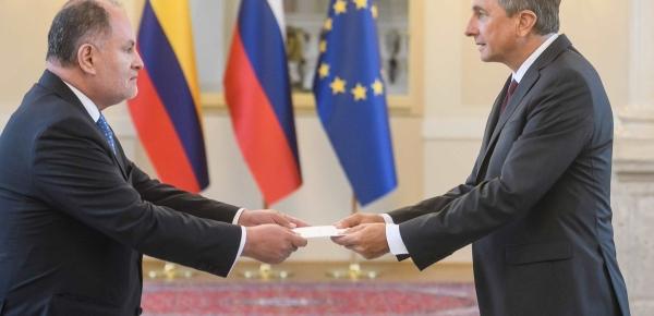 Embajador de Colombia en Austria presentó cartas credenciales como Embajador No Residente en la República Eslovenia
