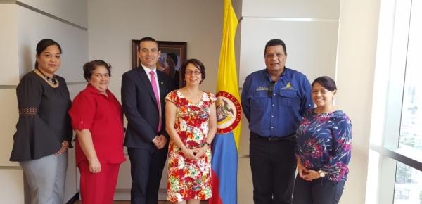 Colombia y Honduras comparten experiencias deportivas en abril 2018