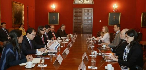 Cancillería presidió la Reunión de Trabajo entre entidades del Gobierno Nacional y el Comisionado Francisco Eguiguren, Relator sobre Defensores y Defensoras de la Comisión Interamericana de Derechos Humanos (CIDH)