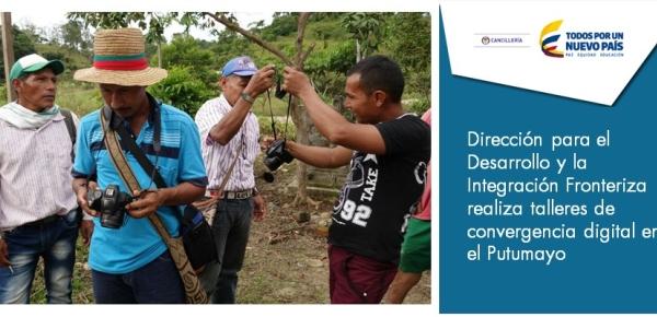 Dirección para el Desarrollo y la Integración Fronteriza realiza talleres de convergencia digital
