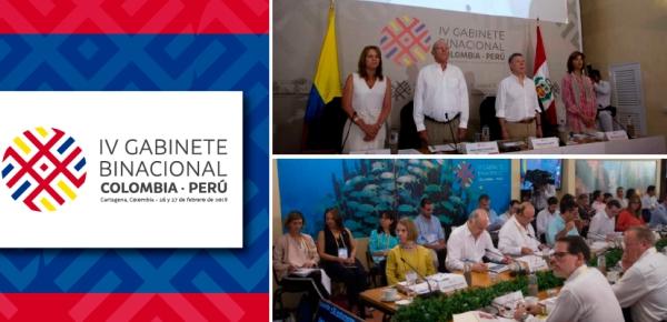 IV Gabinete Binacional Colombia – Perú, Cartagena