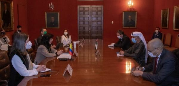 Emiratos Árabes Unidos continúa apoyando la respuesta del Gobierno nacional colombiano al COVID-19