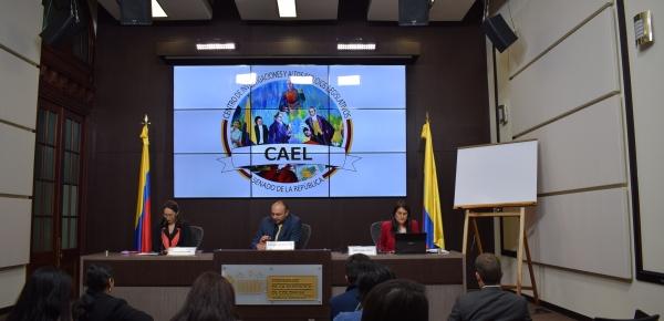 Funcionarios del Senado y la Cancillería participaron en la segunda jornada del Taller de Negociación Internacional a cargo de la Academia Diplomática