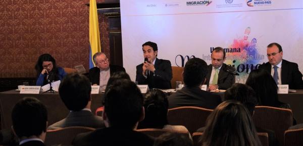 Academia Diplomática Augusto Ramírez Ocampo organizó conversatorio en el marco de la Segunda Semana de las Migraciones