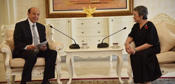 En el encuentro del Embajador de Colombia con la Ministra de Comercio de Tailandia se resaltó el enorme potencial que tienen las dos naciones para ampliar intercambio comercial