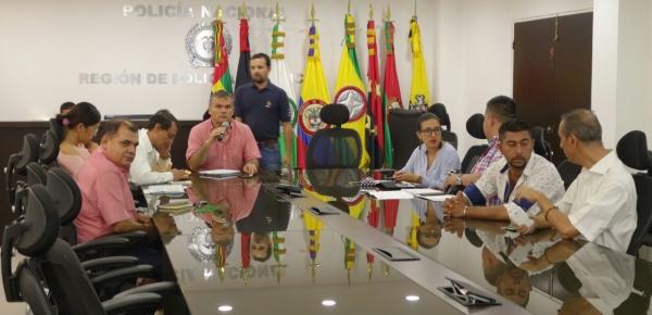 Cancillería y el Departamento Nacional de Planeación realizaron la Cuarta Sesión de la Comisión Regional para el Desarrollo y la Integración Fronteriza - Venezuela I