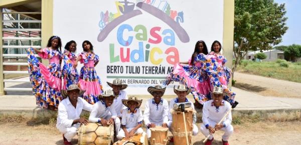 Jóvenes de Casa Lúdica de San Bernardo del Viento llevarán la música del caribe colombiano a Finlandia y Suecia