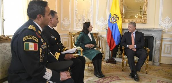 La Embajadora de México en Colombia, Patricia Galeana, presentó cartas credenciales al Presidente Iván Duque