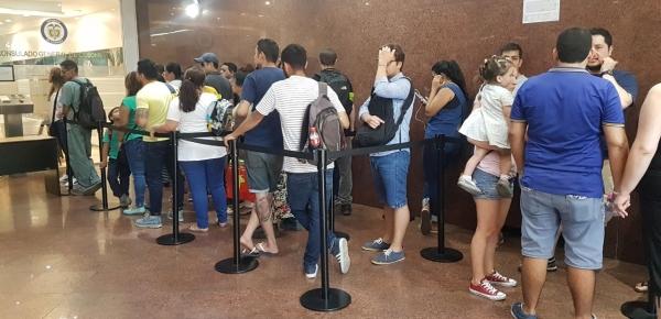 Se cerró el proceso de inscripción de cédulas para elecciones presidenciales en el exterior