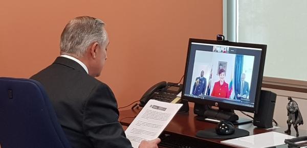 El Embajador Alberto Mejia presentó cartas credenciales ante el Gobierno de Nueva Zelanda