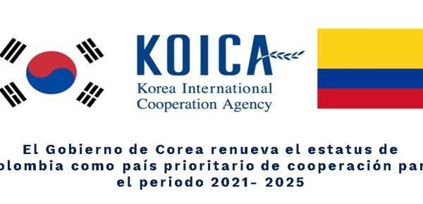 El Gobierno de Corea renueva el estatus de Colombia como país prioritario de cooperación para el periodo
