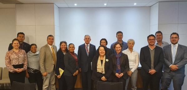 El ICA y Ceniflores visitaron la Embajada de Colombia en Australia para fortalecer el comercio