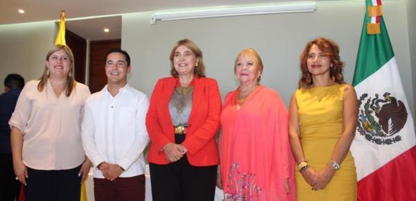 El Ministerio de Relaciones Exteriores inauguró la sede del Consulado de Colombia