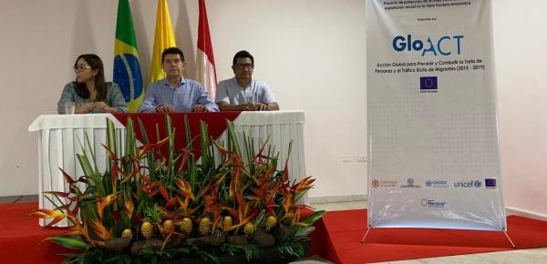 El Ministerio de Relaciones Exteriores participó en el Taller de actualización del Plan Operativo de Triple Frontera Amazónica para la protección de la niñez