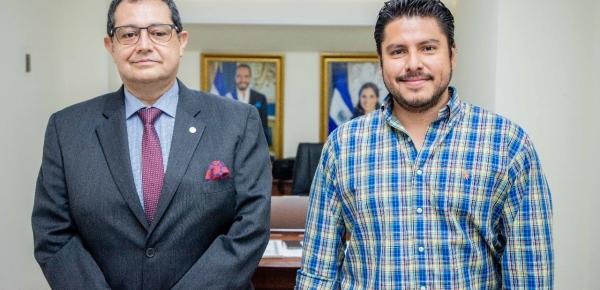 Embajador de Colombia y el Ministro de Agricultura de El Salvador dialogaron sobre temas relacionados con la agenda bilateral