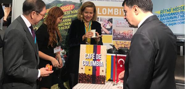 Embajada de Colombia en Turquía y ProColombia participan en Feria de Turismo Travel Expo Ankara