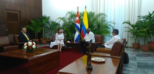Embajadora de Colombia, Araceli Morales López, presentó cartas credenciales ante Cuba