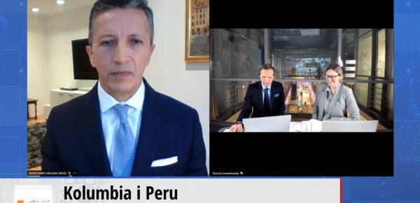 """Embajador Javier Higuera participa en el evento """"Colombia y Perú"""""""