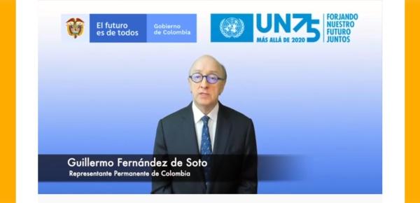 Colombia participa en el 75 aniversario de la firma de la Carta Constitutiva de las Naciones Unidas