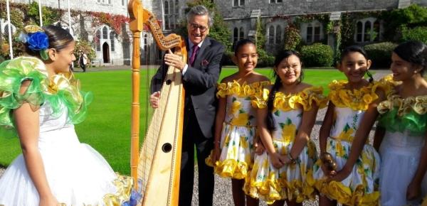 Durante 12 días Irlanda acogió a niñas de Vichada y Guaviare para vivir una experiencia musical