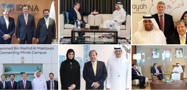 Resumen de la gira del Canciller Carlos Holmes Trujillo por Emiratos Árabes Unidos
