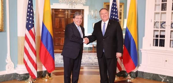Secretario de Estado de EE.UU. reconoció el gran esfuerzo de Colombia en la lucha contra el problema mundial de las drogas