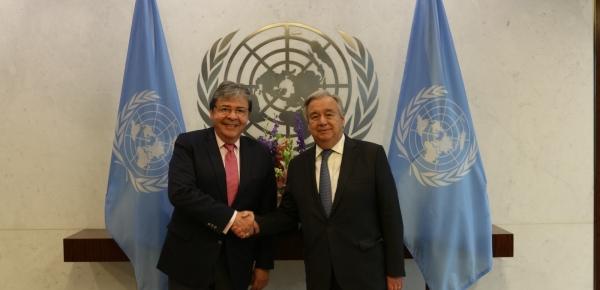 Colombia informó a Secretario General de la ONU sobre evidencias de utilización de niños y niñas por parte del ELN para hacer propaganda