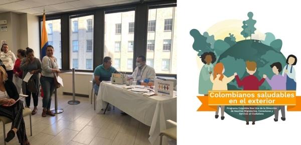 En octubre, colombianos residentes en más 20 ciudades del mundo tendrán servicios de salud