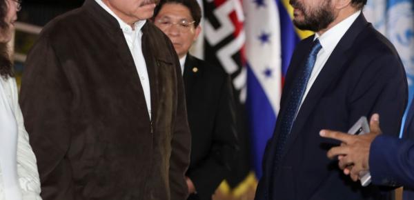 Embajador Alfredo Rangel Suárez entregó cartas credenciales que lo acreditan como Embajador Extraordinario y Plenipotenciario de Colombia al Presidente Ortega